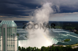 Canadian Horseshoe Falls at Niagara