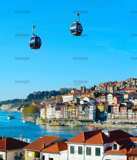 Porto Cable car attraction, Portugal