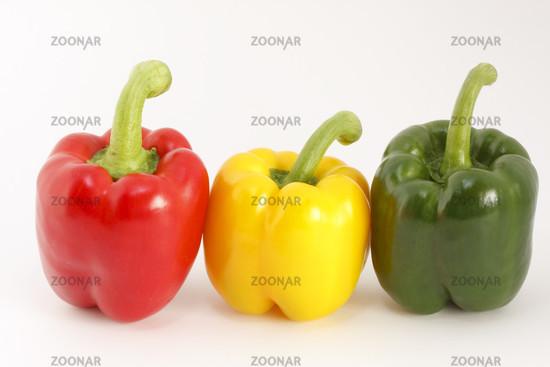 Bunte Paprikaschoten/Colored peppers