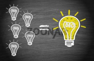 The Big Idea Business Concept