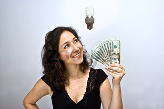Energy saving money