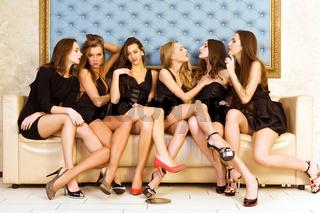 Six beautiful women