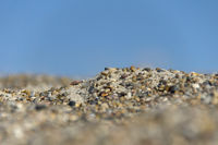 Gravel and sky