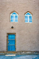Mud house in Khiva downtown