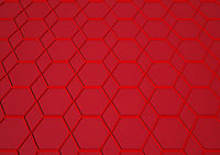 Geometrical structure background. 3D rendering.