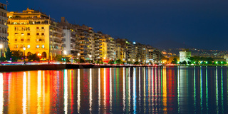 Thessaloniki panorama, Greece