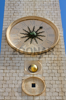 Uhrturm in Dubrovnik. Kroatien