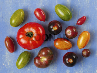 rustic heirloom tomato