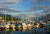 Little port at Geneva lake