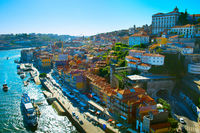 Porto Old Town overlooking, Portugal