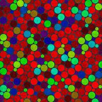 festive dots pattern