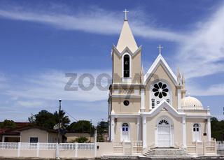 Kirche São Bõaventura, Canavieiras, Bahia, Brasilien, Südamerika