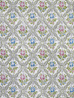 Wallpaper background floral retro