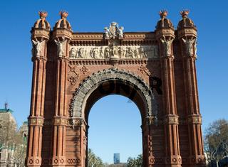 Arc de Triomf, Barcelona, Spain
