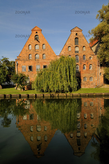 Luebeck, Germany, Historic Warehouses