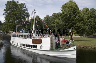 Boot auf dem Dalslandkanal