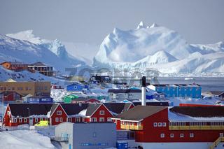 Aussicht über Ilulissat