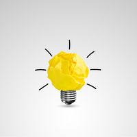 Light bub the big idea concept, Innovative lamp