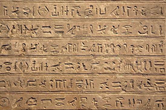 Ancient Hieroglyphic Script