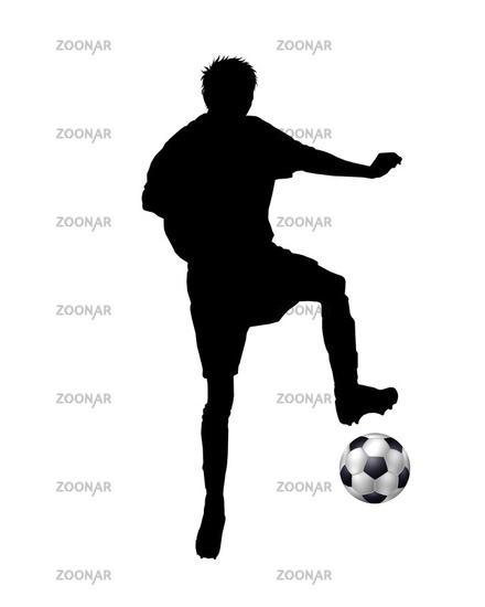 Photo Fussballspieler Silhouette Image 779632