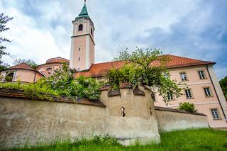 Benedictine Monastery World Heritage Sites in Weltenburg Lower Bavaria Bavaria Germany