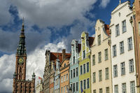 oldtown of Gdansk in Poland