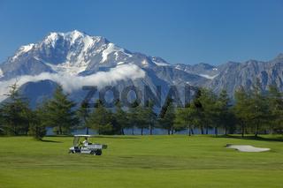 Golfplatz Golf course Riederalp Schweiz