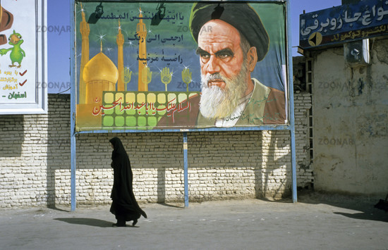 Ayatollah Chomeini, Iran