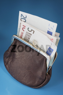 Euro purse