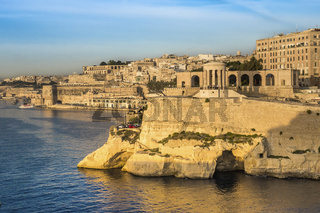 Siege Bell, On The Grand Harbour, Valletta, Malta