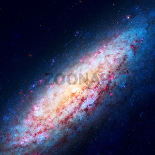 NGC 6503 is a field dwarf spiral galaxy located at Local Void.