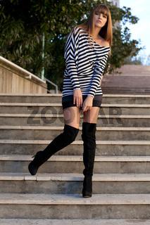 Fashion girl Bernadette Kasper