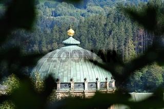 Domkuppel vom Dom St. Blasius in St. Blasien im Schwarzwald