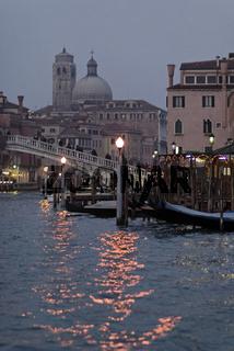 Italien Venedig Abendstimmung