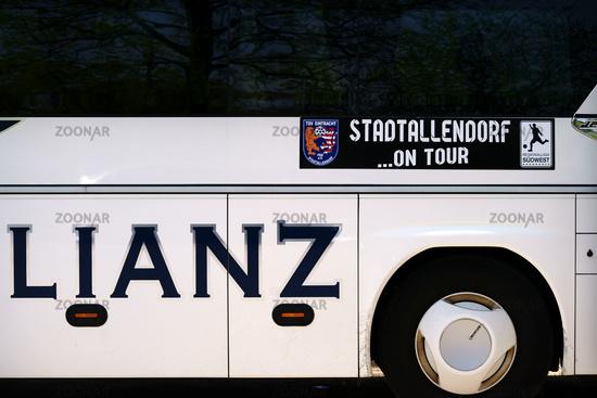 Team bus TSV Eintracht Stadtallendorf