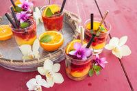 Juicy cocktail