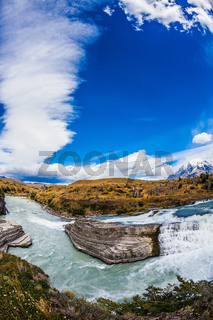 Chile, Patagonia, Paine Cascades
