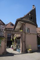 Wine farm in the old town of Colmar