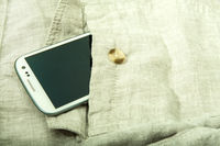 Smartphone in the pocket
