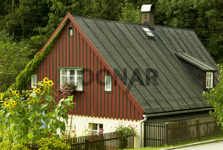 Denmalgeschütztes Bauernhaus