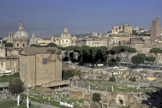 View of the Forum Romanum in HDR