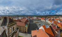 Old center in town Jicin - Czech Republic