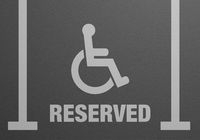 Parking Lot Reserved