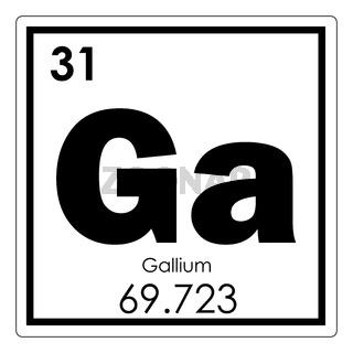 Gallium chemical element