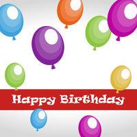 Happy Birthday - Balloons