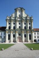 Westfacade, Cloister of Fürstenfeld, Bavaria