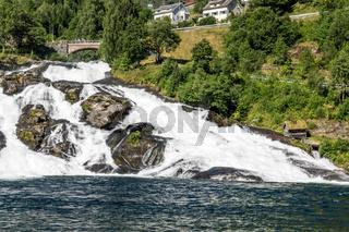 Hellesylt am Geirangerfjord