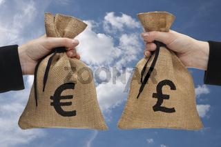 Geldumtausch | currency exchange