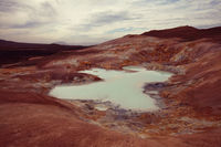 Thermal zone in Iceland