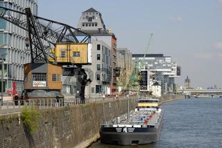 Rheinauhafen Köln, Uferpromenade